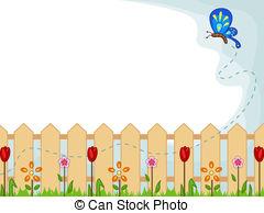 Garden Border Clipart.