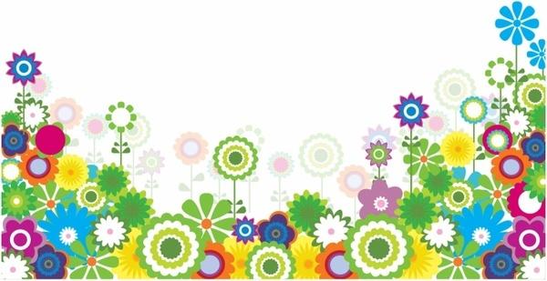 garden border design clipart #10