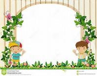 garden border design clipart #18