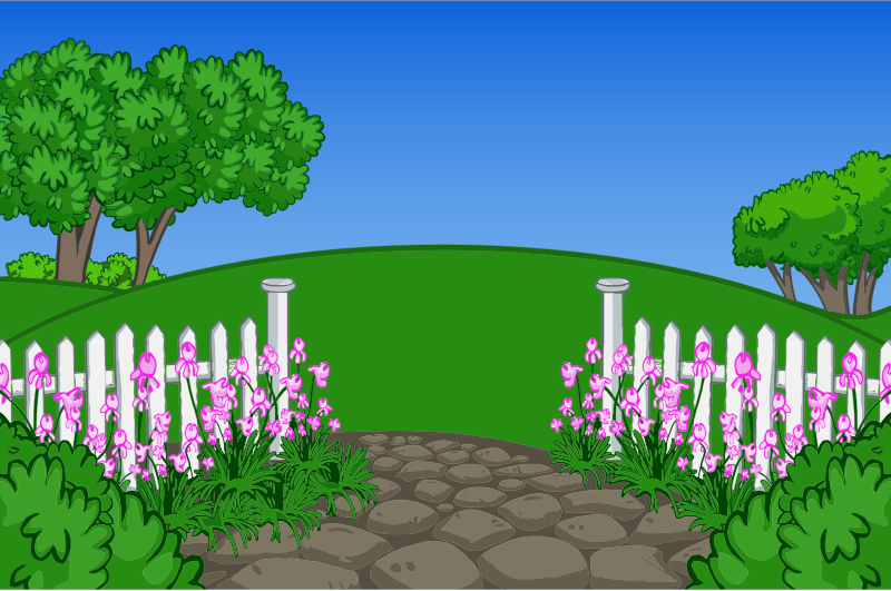 Cartoon Nature Background clipart.