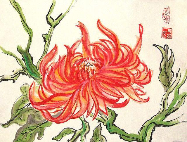 17 Best images about chrysanthème on Pinterest.