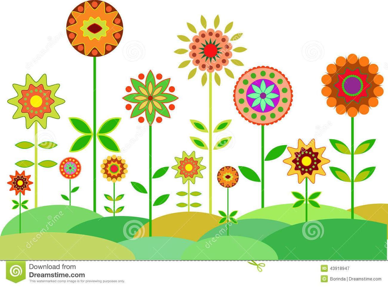 Best HD Flower Garden Clip Art Photos » Free Vector Art.