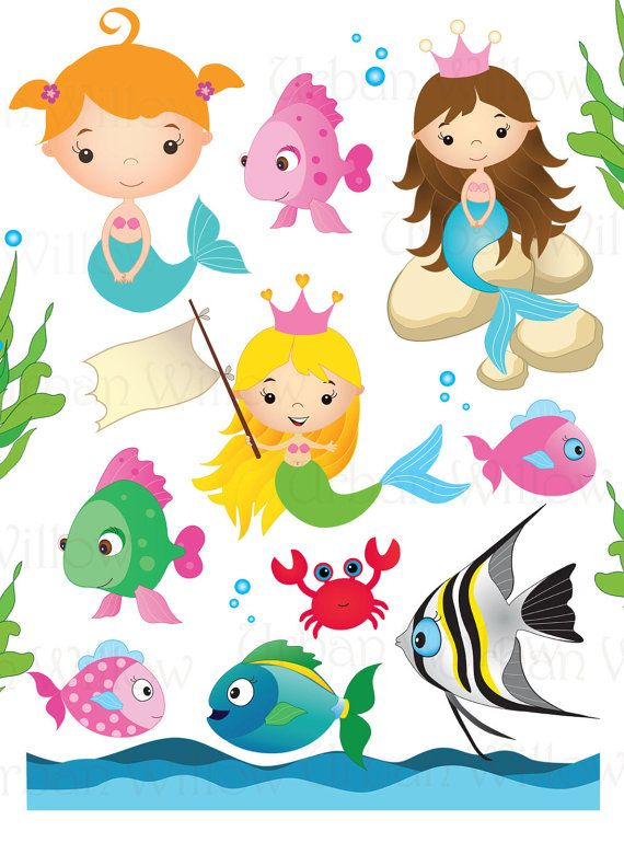 65 best images about Sea animals clipart on Pinterest.