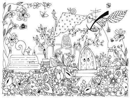 Garden decor clipart #7
