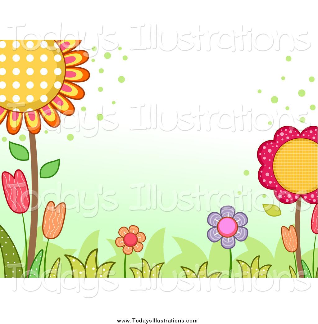 Garden design clip art.