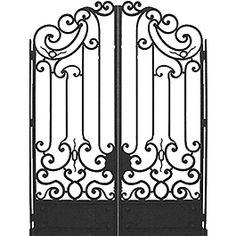 Garden Gate Clipart.