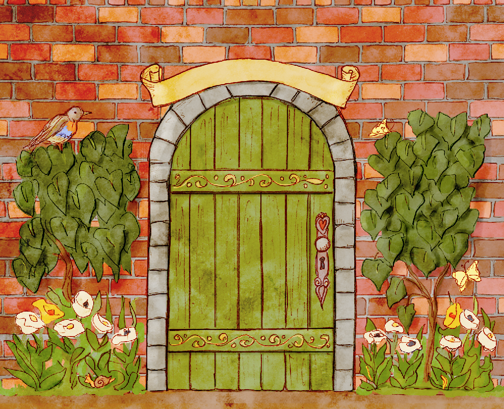 The secret garden clipart.