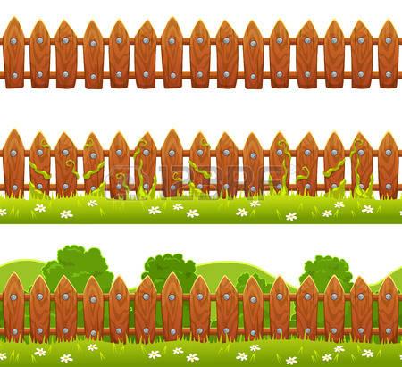 7,436 Garden Fence Cliparts, Stock Vector And Royalty Free Garden.