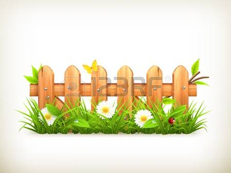 6,802 Garden Fence Cliparts, Stock Vector And Royalty Free Garden.