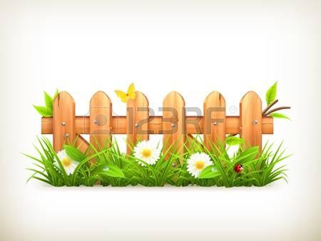 Garden Fence Clipart Clipground