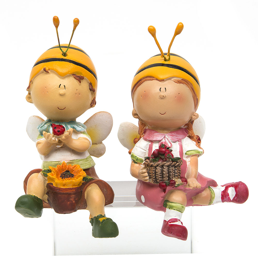 Aliexpress.com : Buy Cute Bee Boy Girl Home Decor Gift Toy Resin.