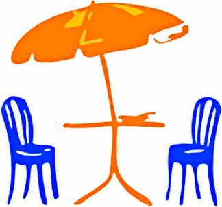 Outdoor Furniture Clipart.