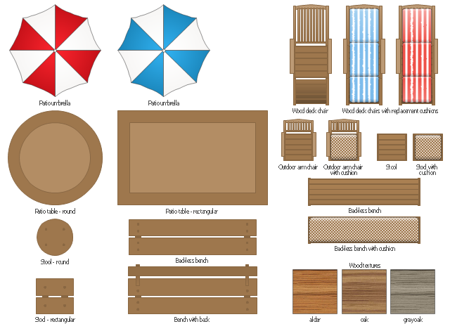 Teak Patio Furniture Clipart Clipground
