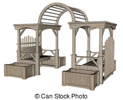 Garden furniture Clipart and Stock Illustrations. 1,344 Garden.
