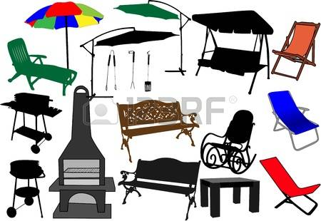 2,062 Garden Furniture Cliparts, Stock Vector And Royalty Free.
