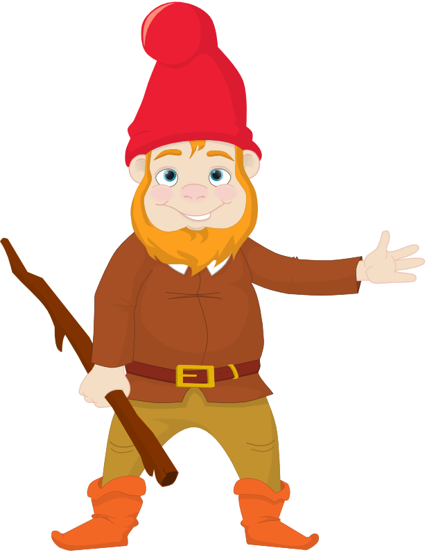 Free to Use & Public Domain Gnome Clip Art.