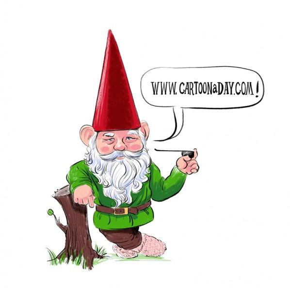 Garden Gnome Clipart Free : Garden.xcyyxh.com.