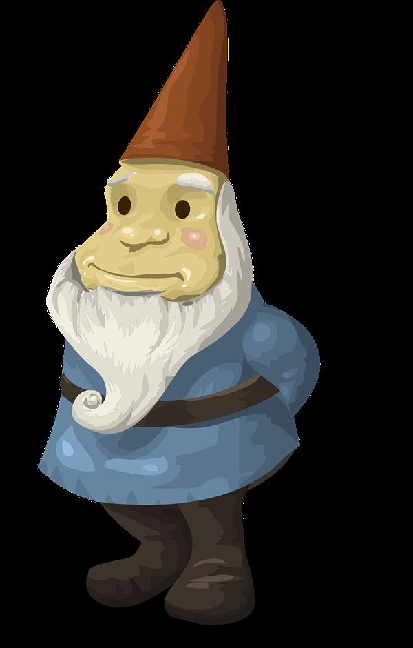 Gnome Clip Art: Garden Gnome Clipart