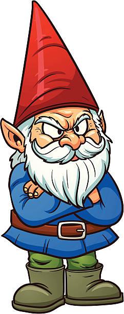 236 Gnome free clipart.