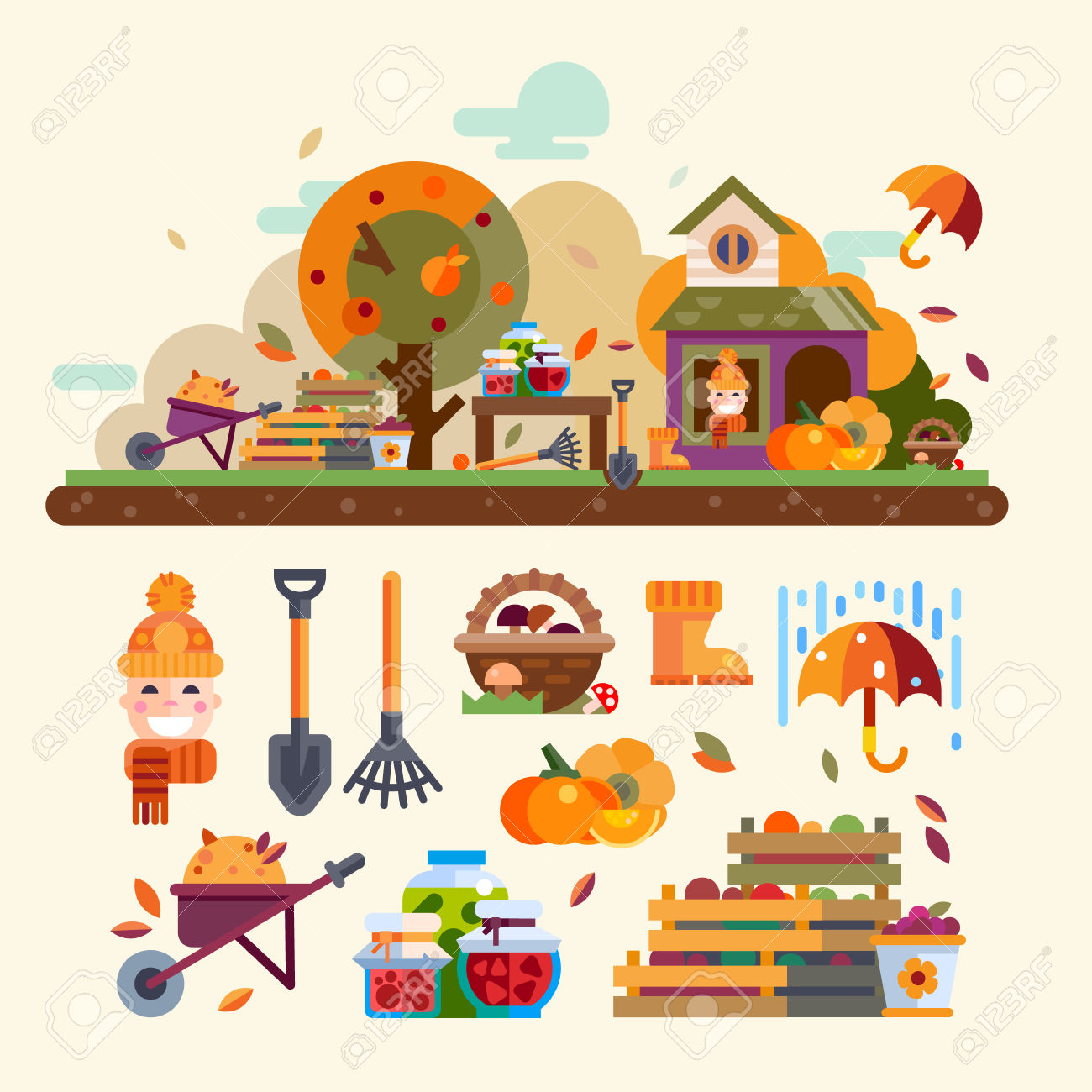 100,390 Harvest Stock Vector Illustration And Royalty Free Harvest.
