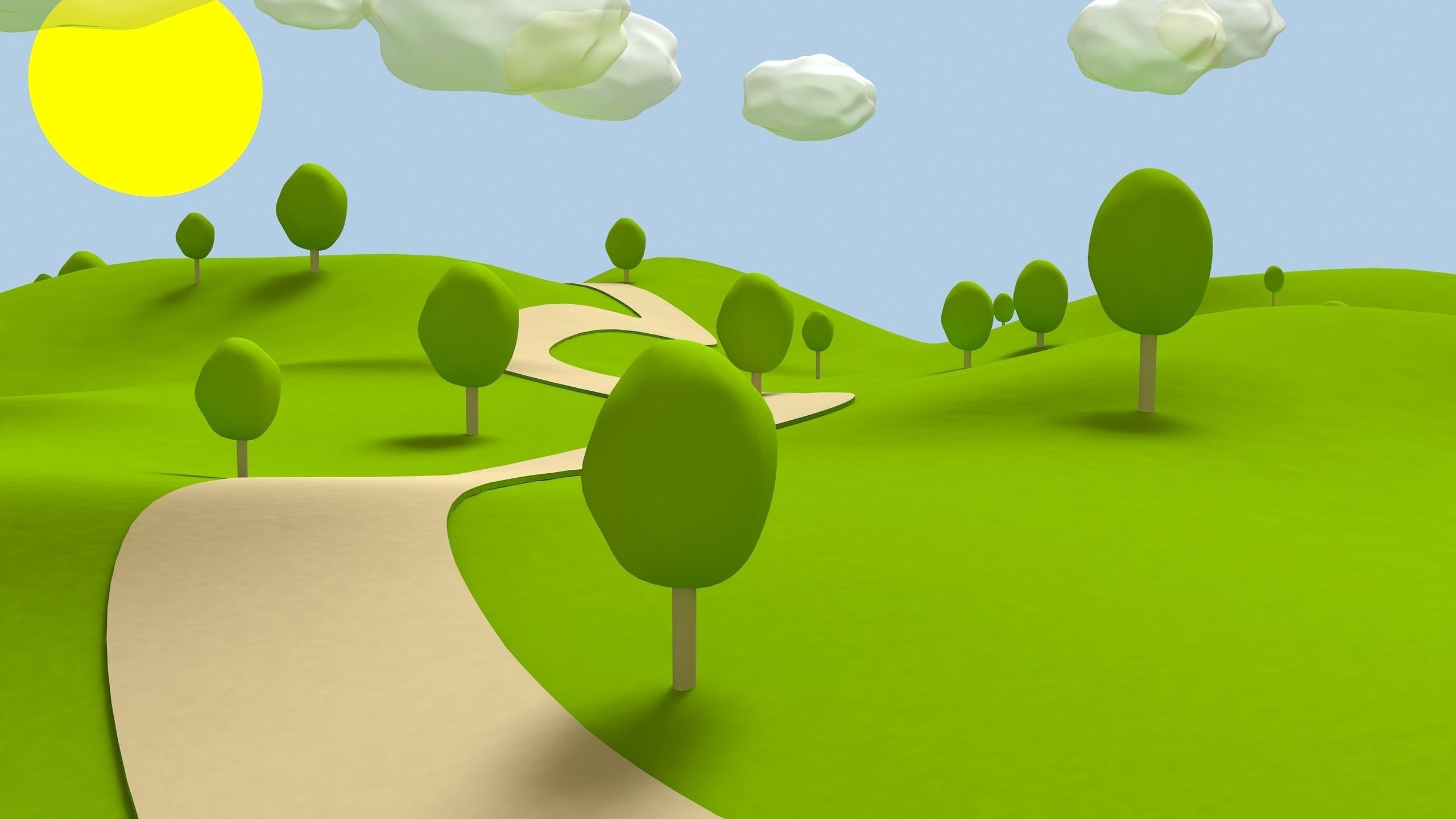 Green garden clipart.