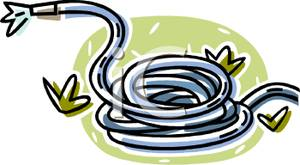 Water hose clipart.
