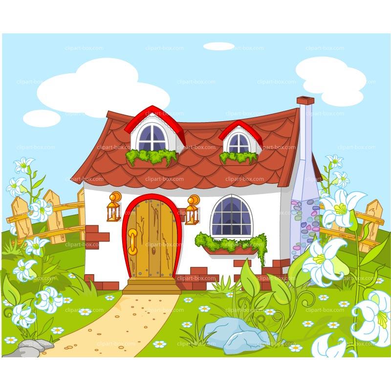 Garden House Clipart