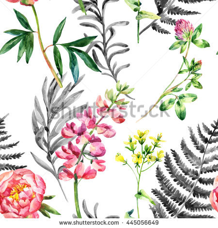 Wild Lupine Stock Images, Royalty.