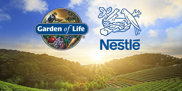 Garden of Life Will Become Part of Nestlé.
