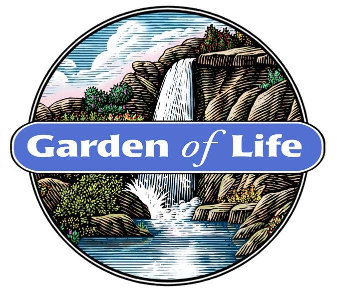 Garden of Life Logo Illustrated by Steven Noble on Behance.