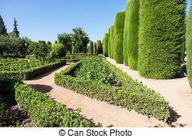 Stock Photo of Italian Garden..