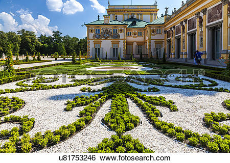 Stock Images of Poland, Mazovia Province, Warsaw. The formal.