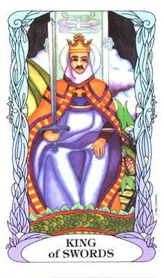 The Fool ~ Tarot of a Moon Garden.