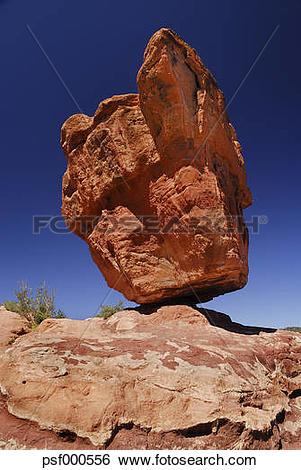 Stock Images of USA, Colorado, Colorada Springs, Garden of the.