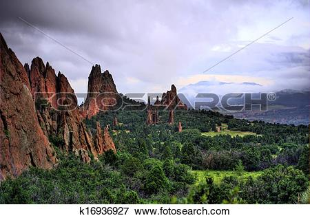 Picture of Garden of the Gods k16936927.