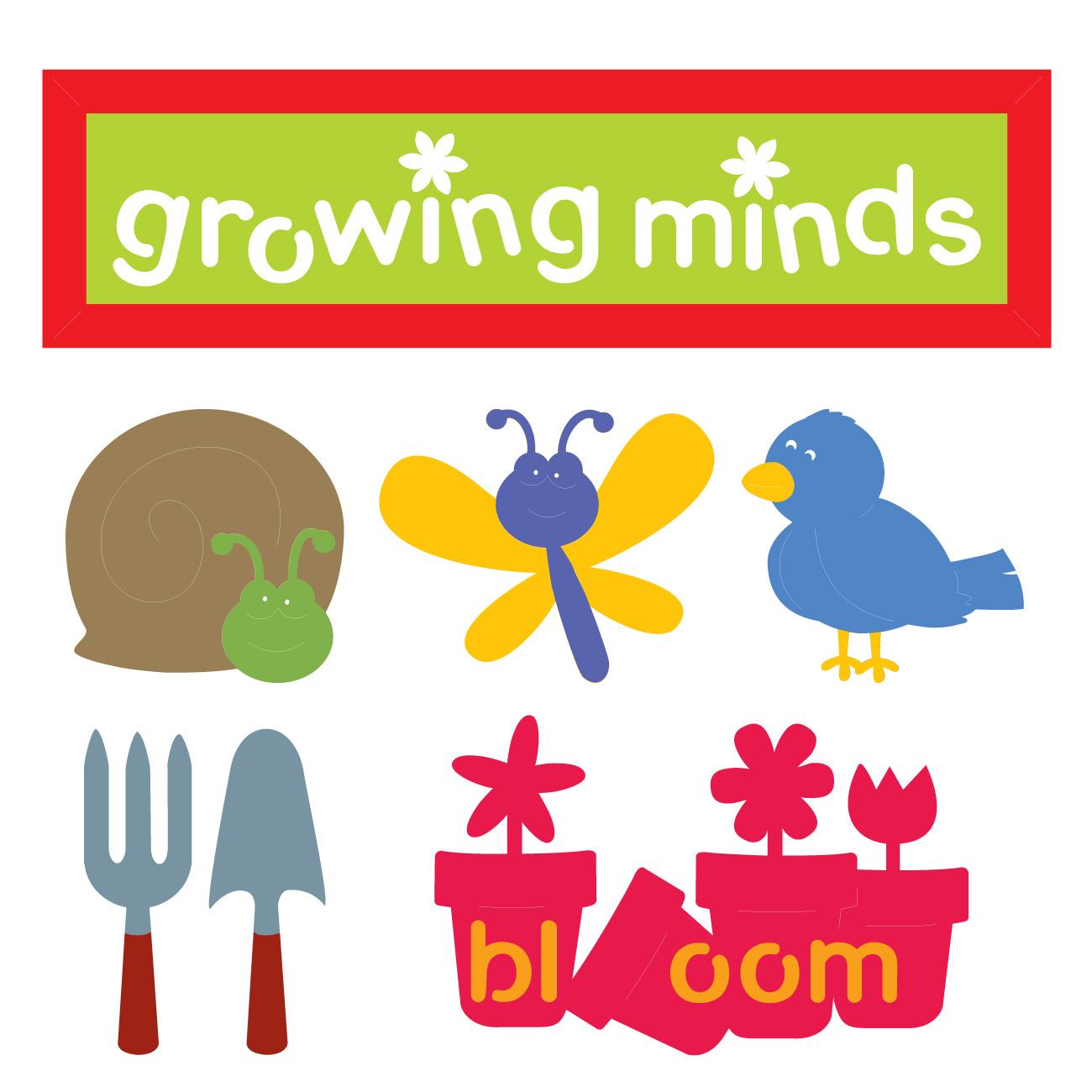Cricut® Word Builders: A Garden of Words Classmate™.