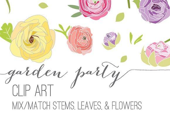 Garden party clipart 1 » Clipart Portal.