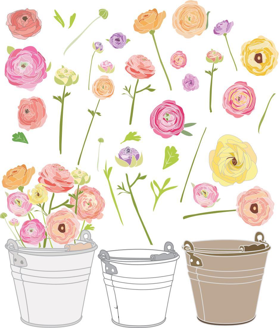 HD Garden Party Clip Art Vector Images » Free Vector Art.