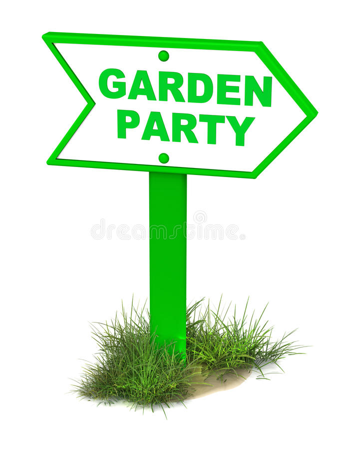 Garden Party Stock Illustrations.