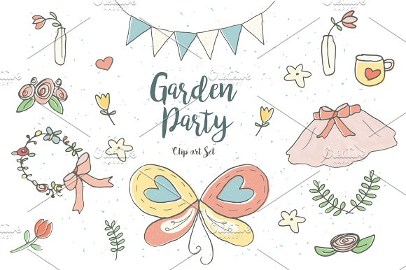 Garden party clipart 1 » Clipart Station.