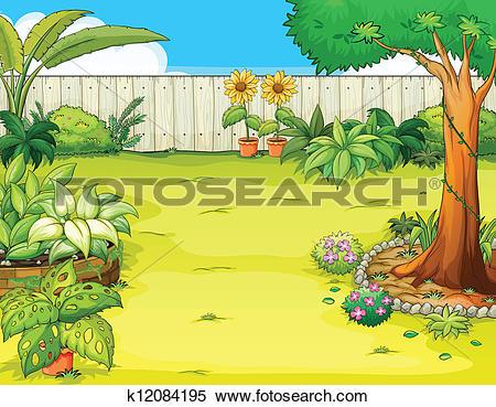 garden path clipart clipground