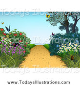 Royalty Free Garden Stock New Designs.