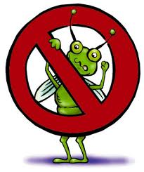 Garden Pests Clip Art.