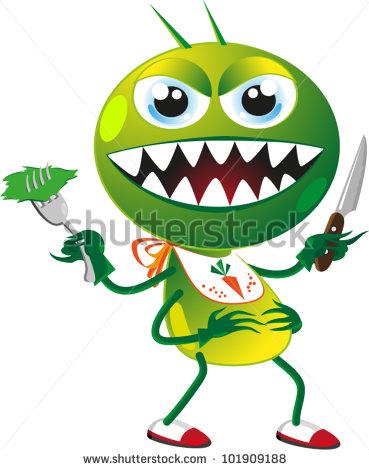 Garden Pests Clip Art.