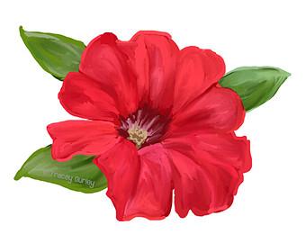 Petunia Clipart.
