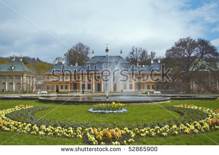 Pillnitz Stock Photos, Royalty.