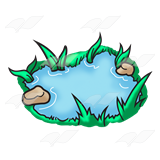 Small Pond Clipart.