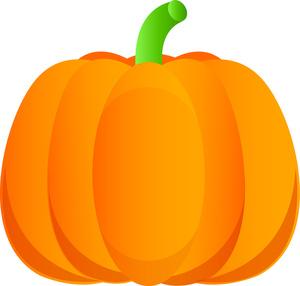 Pumpkin Clipart Image.
