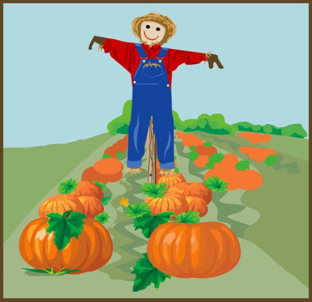 Pumpkin Clip Art Garden.