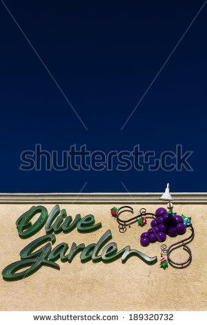 Olive Garden Restaurant Logo Clipart.